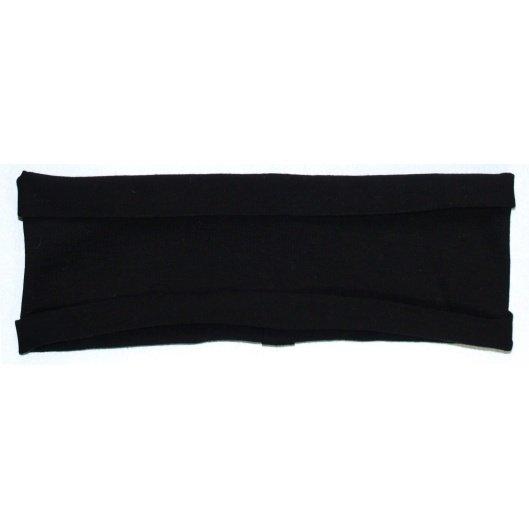 Headband (Black) stretchy hBand for yoga, pilates, exercise, sports, sweatband or any activities