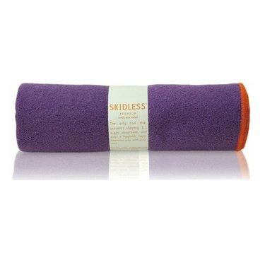 yogitoes SKIDLESS mat towel - purple