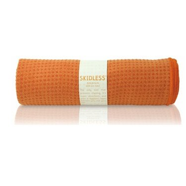 yogitoes SKIDLESS mat towel - orange