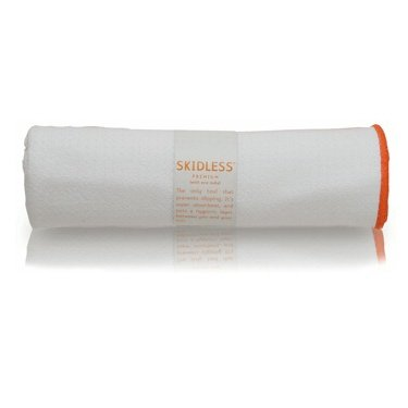 yogitoes SKIDLESS mat towel - white