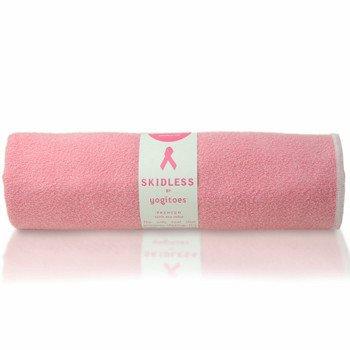 yogitoes SKIDLESS mat towel - Pink