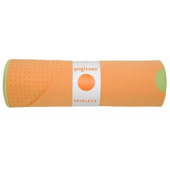 yogitoes SKIDLESS mat towel - Mango (Tropical Collection)