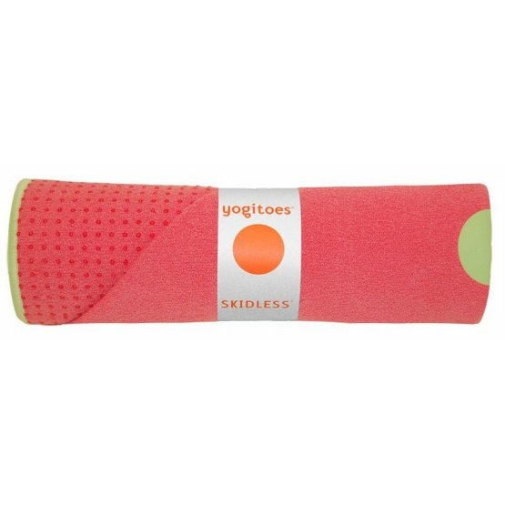 yogitoes SKIDLESS mat towel - Guava (Tropical Collection)