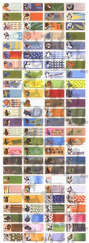 Name Labels Stickers- Madagascar Series