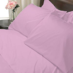 100%Egyptian Cotton Color Lilk 600TC Twin Solid Sheet Set