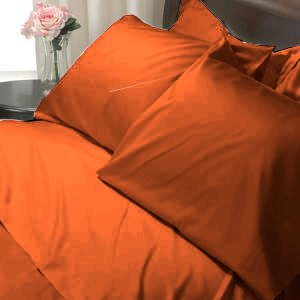 100%Egyptian Cotton Color Wine 600TC Twin Solid Sheet Set