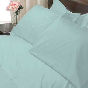 SHEET SET KING SOLID 100%Egyptian Cotton Color Medosw 800TC.