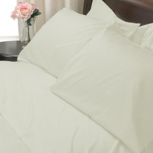 100%Egyptian Cotton Color  Cameo 1200TC Queen Solid Sheet Set
