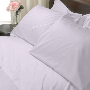 100%Egyptian Cotton Color  Fresia 1200TC Queen Solid Sheet Set