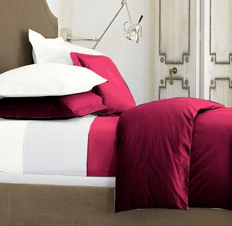 SHEET SET 100 % Egyptian Cotton Color Burgundy 1500 TC King Size Solid.
