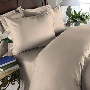 100% Egyptian Cotton, Color Walnut, TC 1200 Size Queen Duvet Cover.