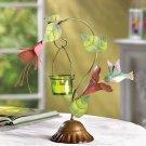 Hummingbird Candle Holder