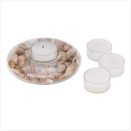 Seashell Tealight Candleholder
