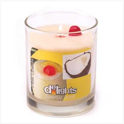 Pina Colada Delights candle