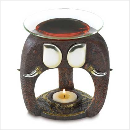 Tribal Elephant Oil Warmer