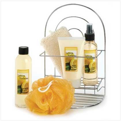 Lemon Verbena bath set