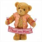Thankyou Mom Bear figurine