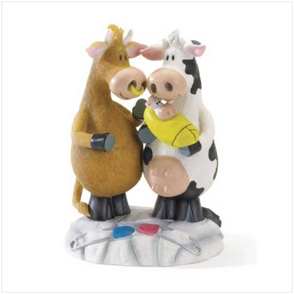 'Moo Arrivals' Figurine