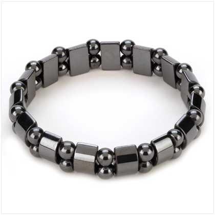 Hemetite Black Pearl Bracelet