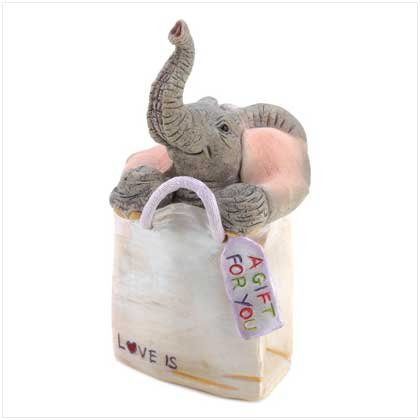 """TUSKERS """"A Gift for You"""" Figurine"""