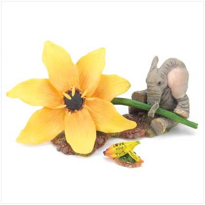 """TUSKERS """"Love You this much"""" Figurine"""