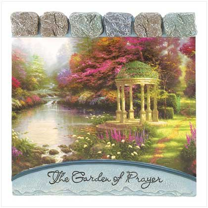 Garden Of Prayer's Wall Plaque
