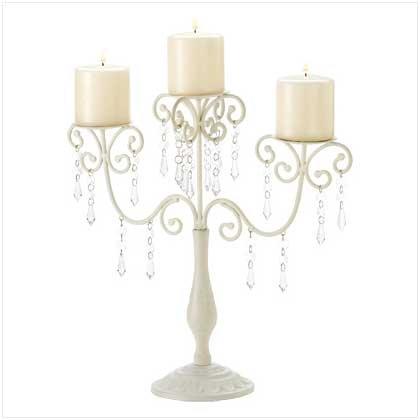 Ivory elegance Candleholder