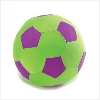 Plush World Soccer Pillow