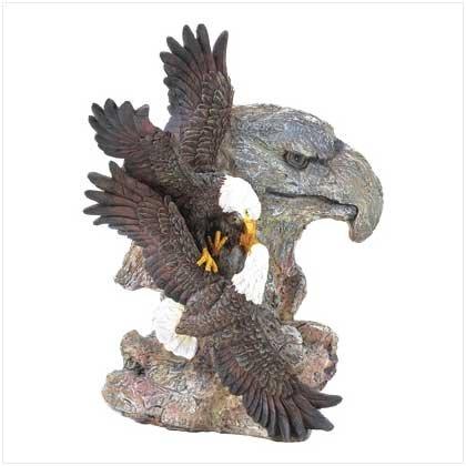 Mountain Eagles Figurine