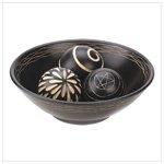 Artisan Deco Bowl and Balls