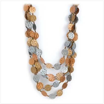 Copper Arab Night Necklace