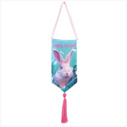 Spring Time Bunny Banner