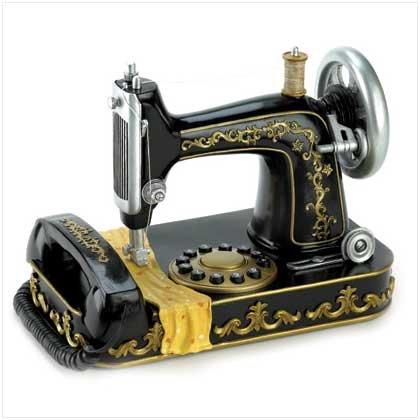 Vintage Sewing Machine Phone