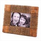 Seagrass Trim Photo Frame