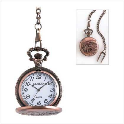 Stagecoach Pocket Watch