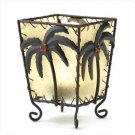 Tropical Palm Votive Holder