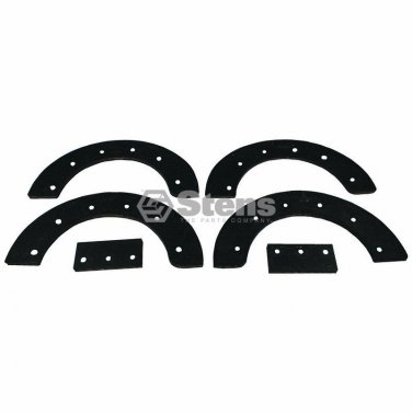 "6 Pc Paddle Set Fits 302565MA 327072MA 21"" Auger Blade Snow Blower Snowthrower"