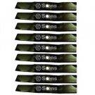 "9 Medium Lift Blades For M143520 Lawn Mower C Deck 54"""