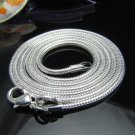 2mm Sterling Silver Snake chain 22""