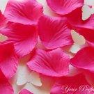 1000 FUCHSIA HOT PINK SILK ROSE PETALS WEDDING DECORATION FLOWER FAVOR RP013