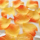 1000 ORANGE SILK ROSE PETALS WEDDING DECORATION FLOWER FAVOR RP022