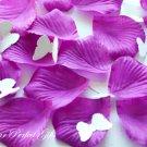 1000 PURPLE SILK ROSE PETALS WEDDING DECORATION FLOWER FAVOR RP024
