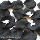 1000 BLACK SILK ROSE PETALS WEDDING DECORATION FLOWER FAVOR RP001