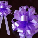 "10 LAVENDER PURPLE 8"" WEDDING PULL PEW BOWS FOR BRIDAL CAKE GIFT BASKET DECORCATION PB039"
