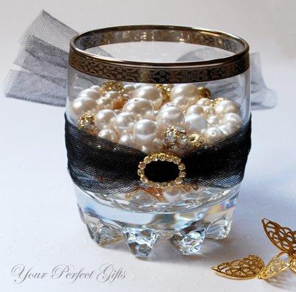 24 OVAL Gold Diamante Rhinestone Crystal Buckle Sliders For Wedding Invitation BK085