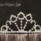 "2"" Swarovski Crystal Rhinestone Bridal Pageant Wedding Party Tiara Comb Crown Headband"