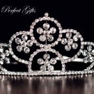 "2.75"" Swarovski Crystal Rhinestone Bridal Pageant Wedding Party Tiara Comb Crown Headband"