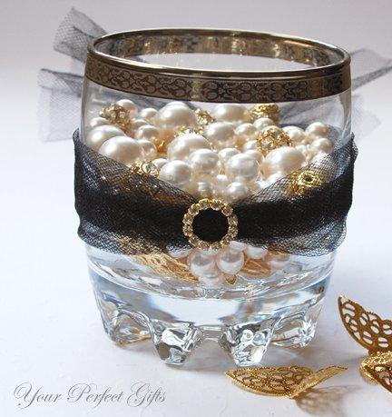 1 pc CIRCLE ROUND Gold Diamante Rhinestone Crystal Buckle Slider Wedding Invitation BK019