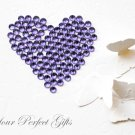 1000 Acrylic Faceted Flat Back Tanzanite Rhinestone 3mm Wedding Invitation scrapbooking LR093