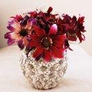6 pcs Swarovski Crystal Rhinestone Bow Shape  Bouquet Flower Centerpiece Jewelry